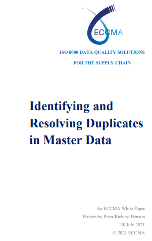 Identifying and Resolving Duplicates in Master Data