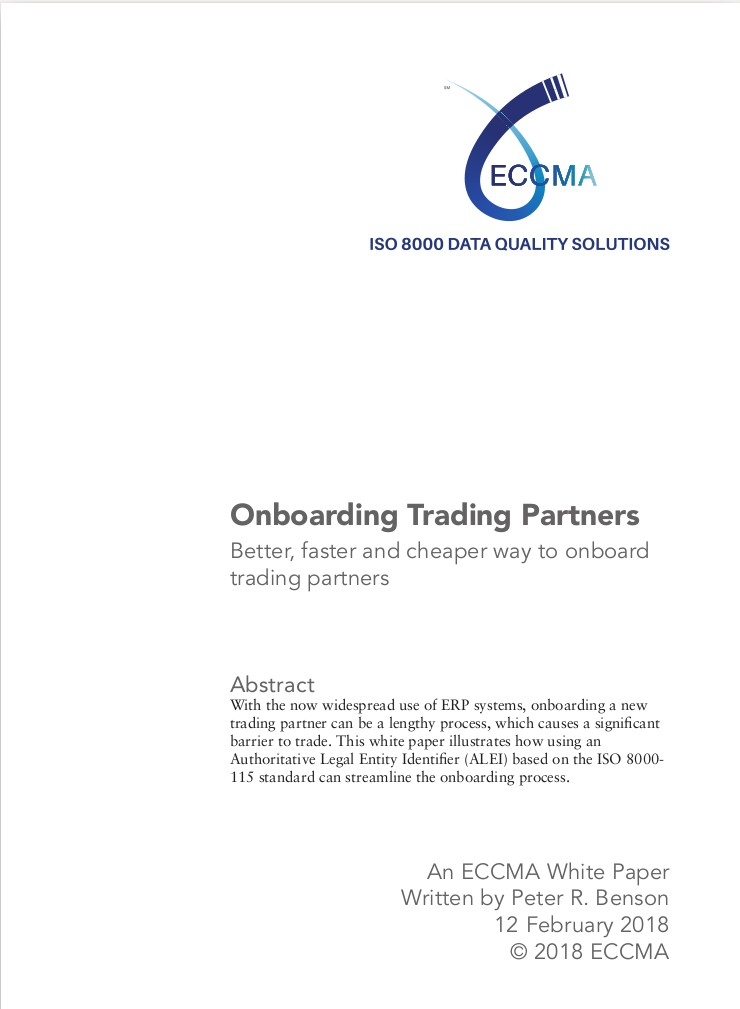 Onboarding Trading Partners