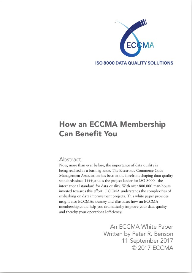 How an ECCMA Membership Can Benefit You